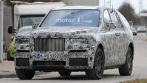 Rolls-Royce Cullinan casus fotoğrafları