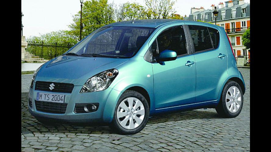 Platsch: Der knuffige Suzuki Splash wird vorgestellt
