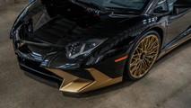 Lamborghini Aventador SV Coupe Gold
