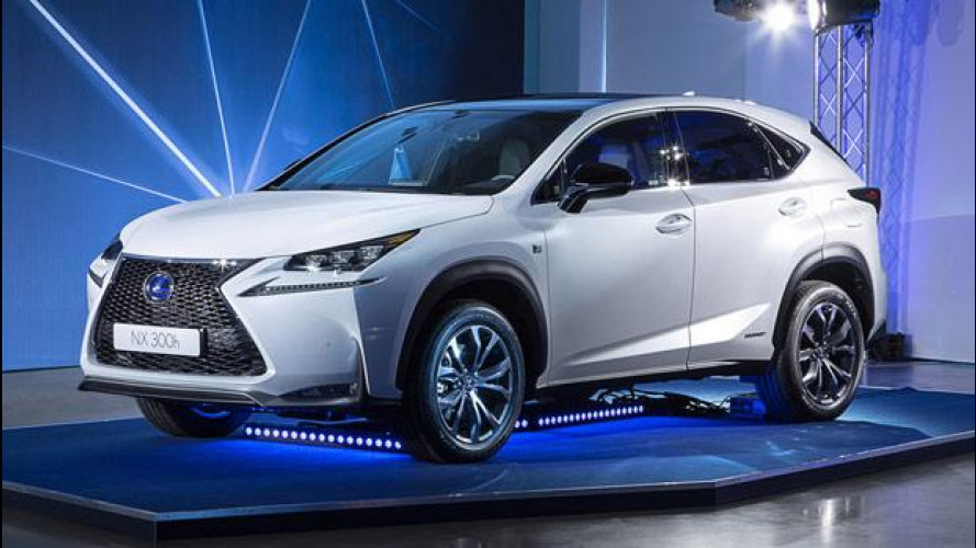 Lexus NX, il SUV ibrido