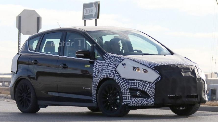 Makyajlı Ford C-Max Michigan'da görüntülendi