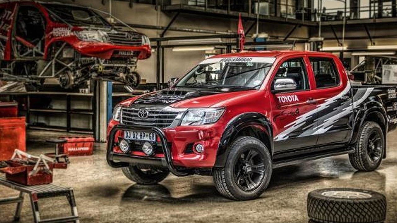 Toyota Hilux Racing Experience