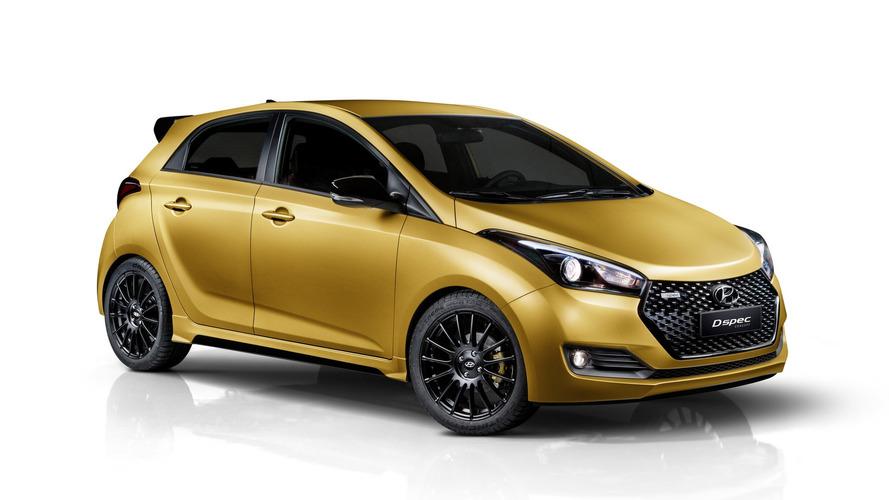 Hyundai personaliza três HB20 como estudo para séries especiais