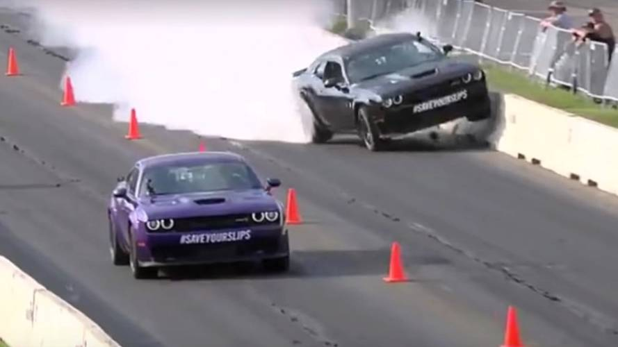 Discovery Channel Shows >> Watch Gas Monkey's Richard Rawlings Crash A Hellcat Into A Wall