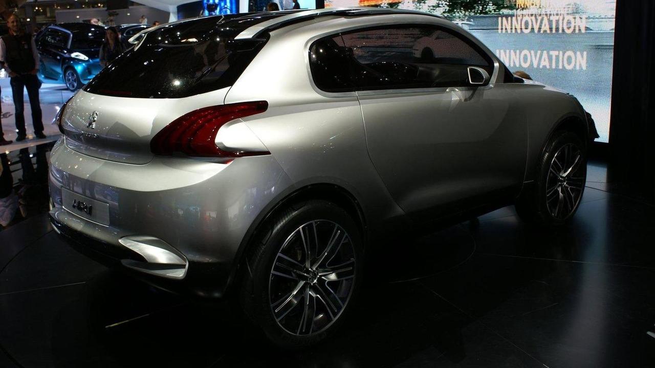 Peugeot HR1 Concept live in Paris 30.09.2010