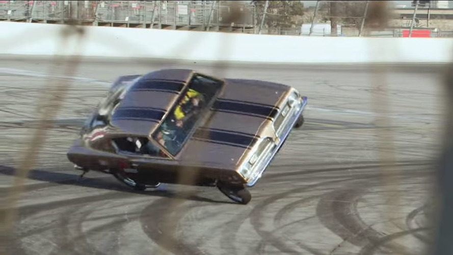 Watch Jay Leno nearly get killed in a 2,500-HP dragster