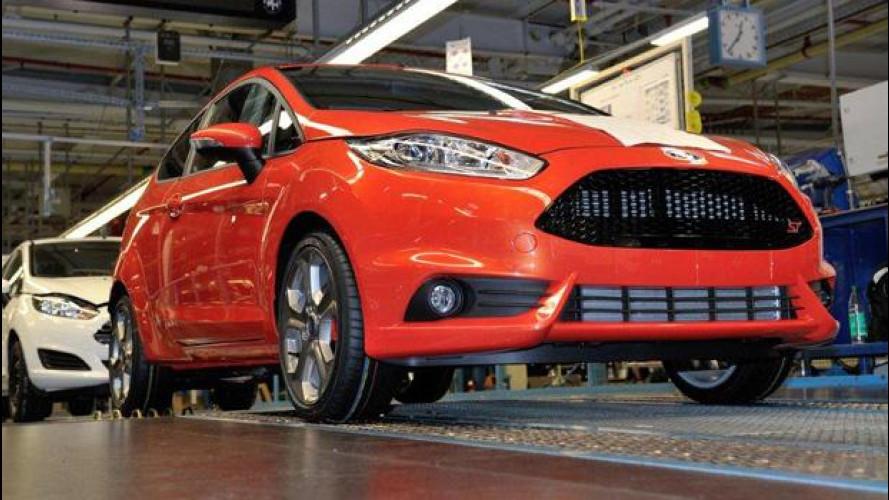 Ford Fiesta ST, parte la produzione
