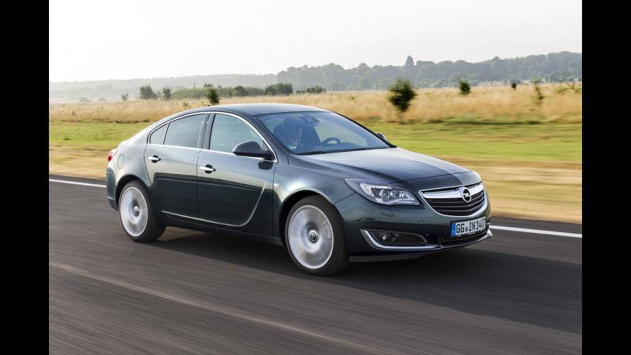 Opel Insignia restyling, infotainment tattile con il