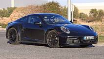 2019 Porsche 911 Turbo casus fotoğrafları