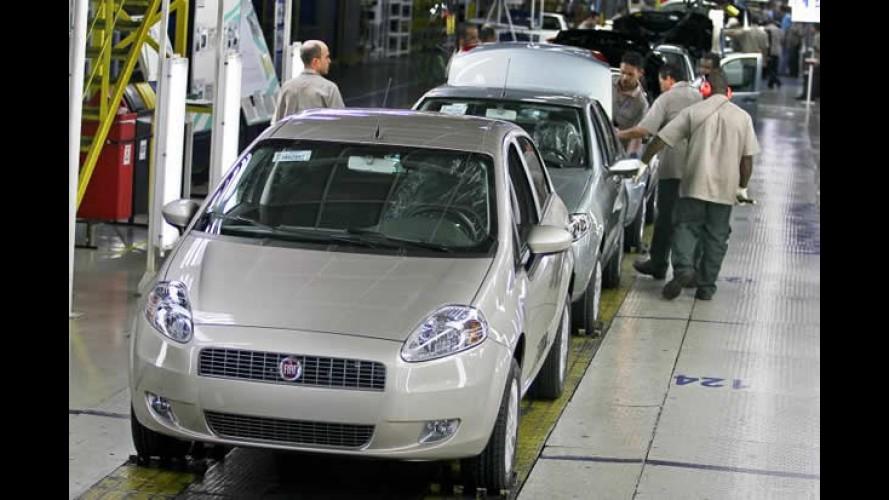 Fiat anuncia novo recorde e liderança no mercado brasileiro em 2009