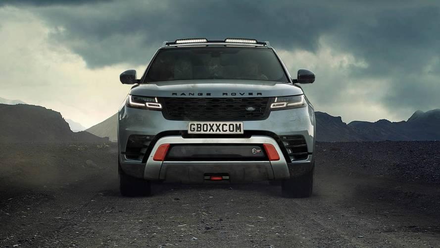 Imaginamos la gama SVX de Land Rover