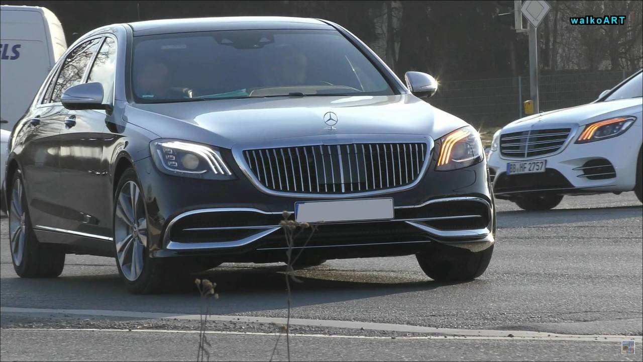 2019 Mercedes-Maybach S-Class on the streets