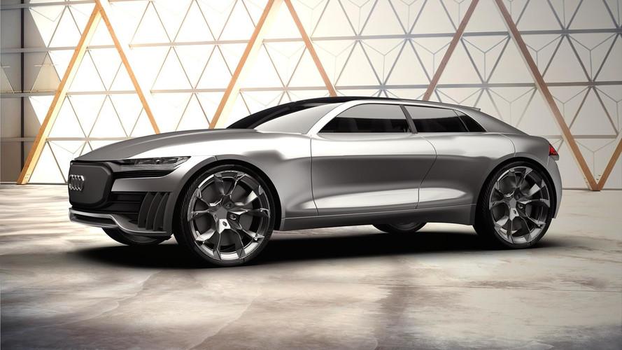 Audi Q4 E-Tron konsepti elektrikli bir SUV'ye işaret ediyor