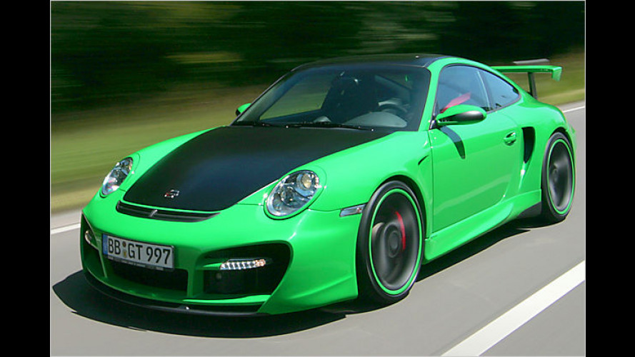 Stärker: Techart GTstreet auf Basis des Porsche 911 Turbo