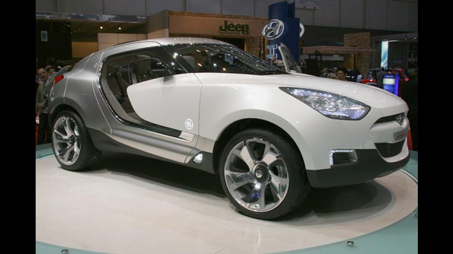 Hyundai zeigt in Genf das Concept-Car HED-4 Qarmaq