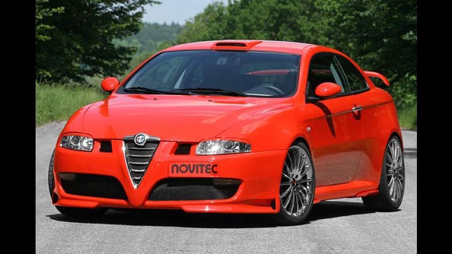 Alfa GT X-supero: Kompressor-Zorn und Spoiler-Werk