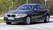 2018 BMW 1 Series facelift spy photo