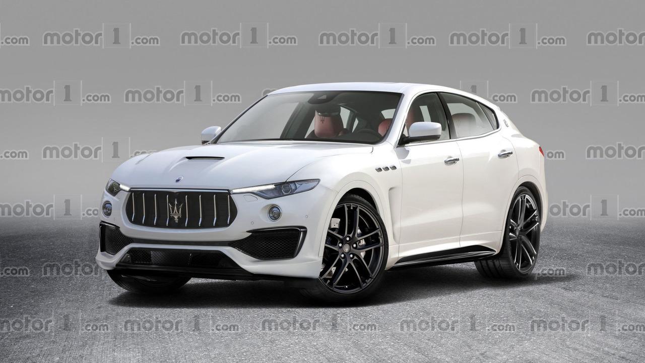 Maserati Levante GTS tasarım çalışması