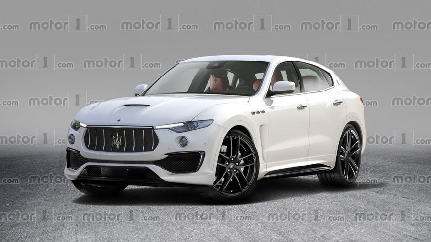 Maserati Levante GTS Render Is The SUV Ferrari Won't Do