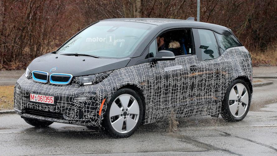 Photos espion - La BMW i3 restylée est presque prête