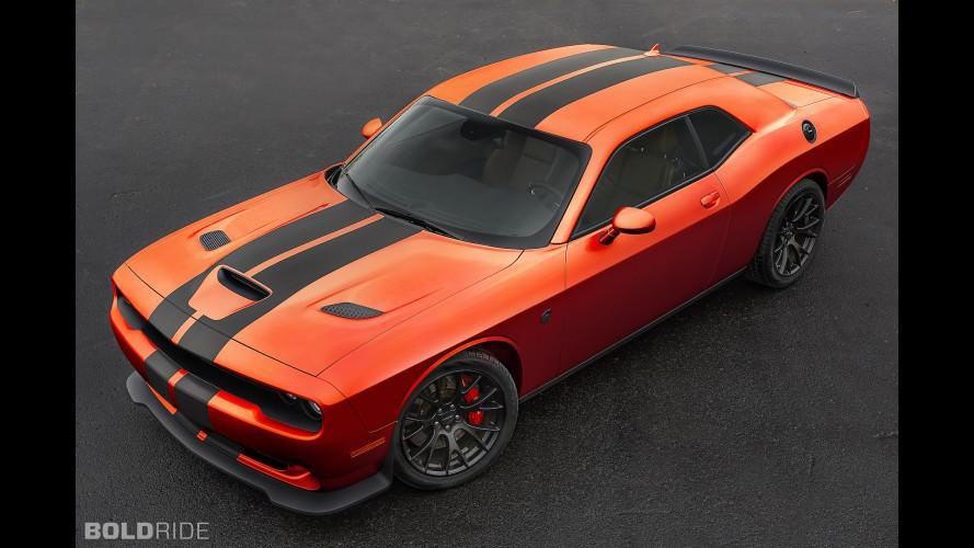Dodge Challenger Hellcat Go Mango