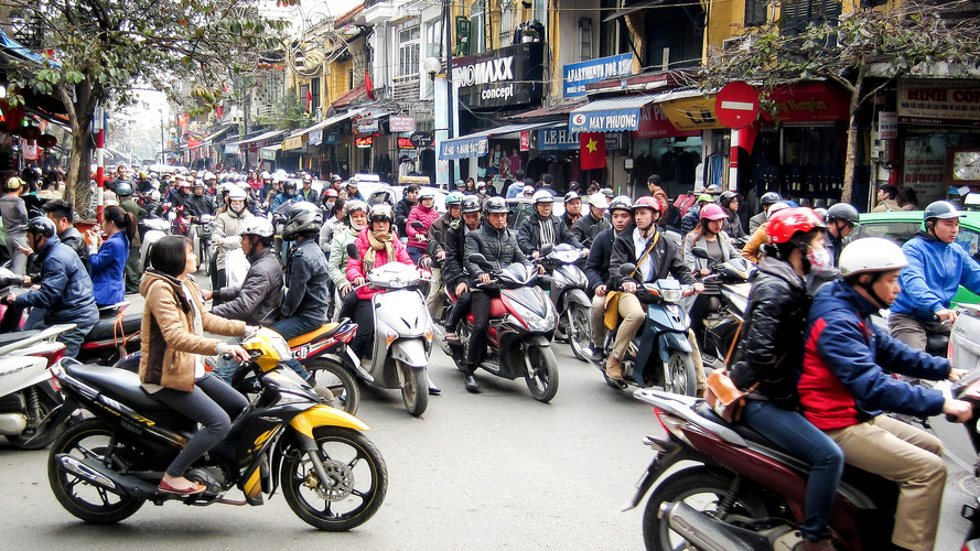 Hanoi plans motorcycle ban