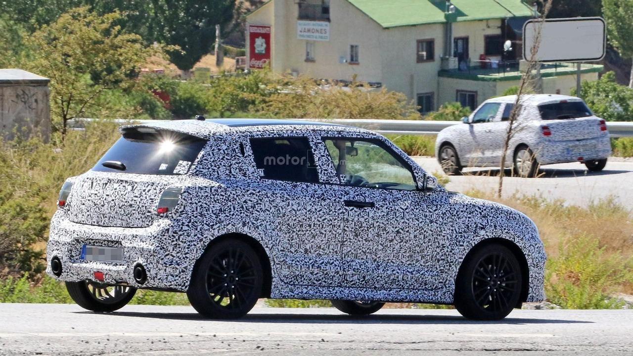 2017 Suzuki Swift Sport spy photo