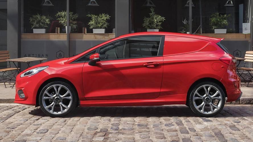 Ford Fiesta Van 2018, para las tareas diarias