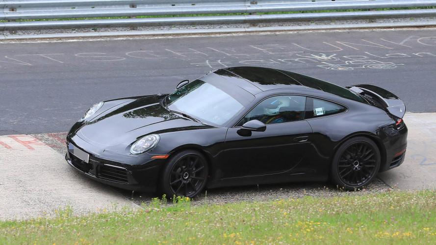 Neuer Porsche 911 als Erlkönig