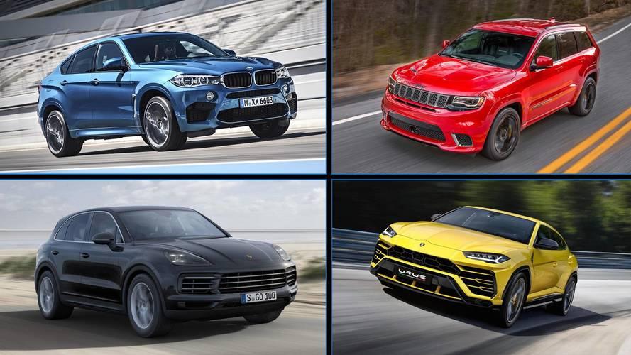 Lista - 8 SUVs que aceleram tão rápido como um legítimo esportivo