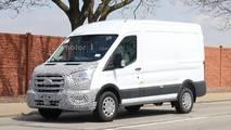 2019 Ford Transit Spy Photos