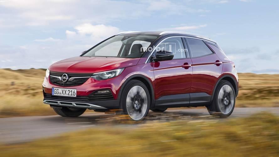 Opel Adam X, Mokka X, Monza X renders