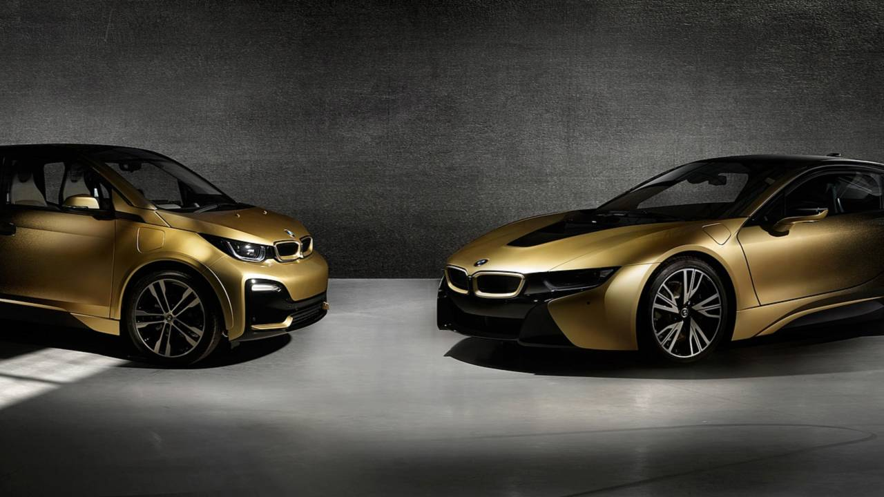 BMW i3 and i8 Starlight Edition
