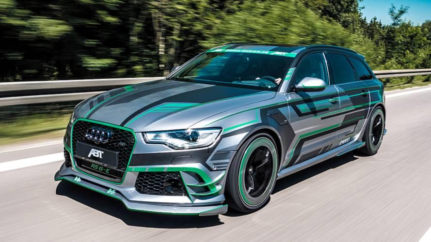 ABT Audi RS6-E, esageratamente ibrida con 1.018 CV