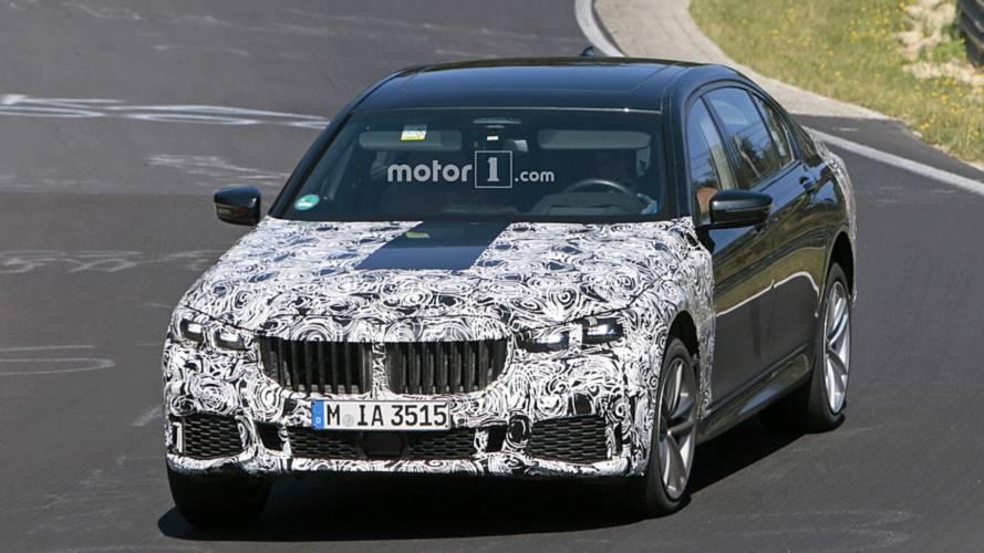 2019 BMW 7 Series facelift spy photos