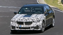 2019 BMW 7 Series facelift spy photos