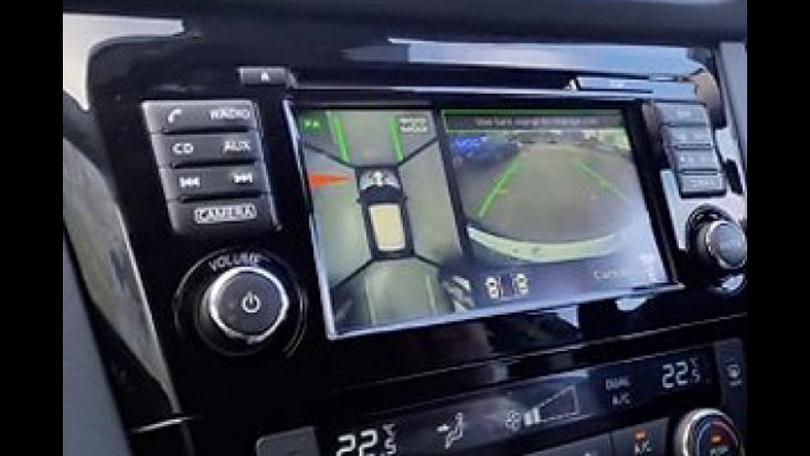 Nissan scende in campo con l'Around View Monitor