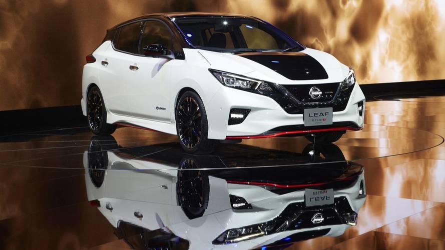 Nissan Leaf'in agresif kardeşi Nismo konsepti Tokyo'da tanıtıldı