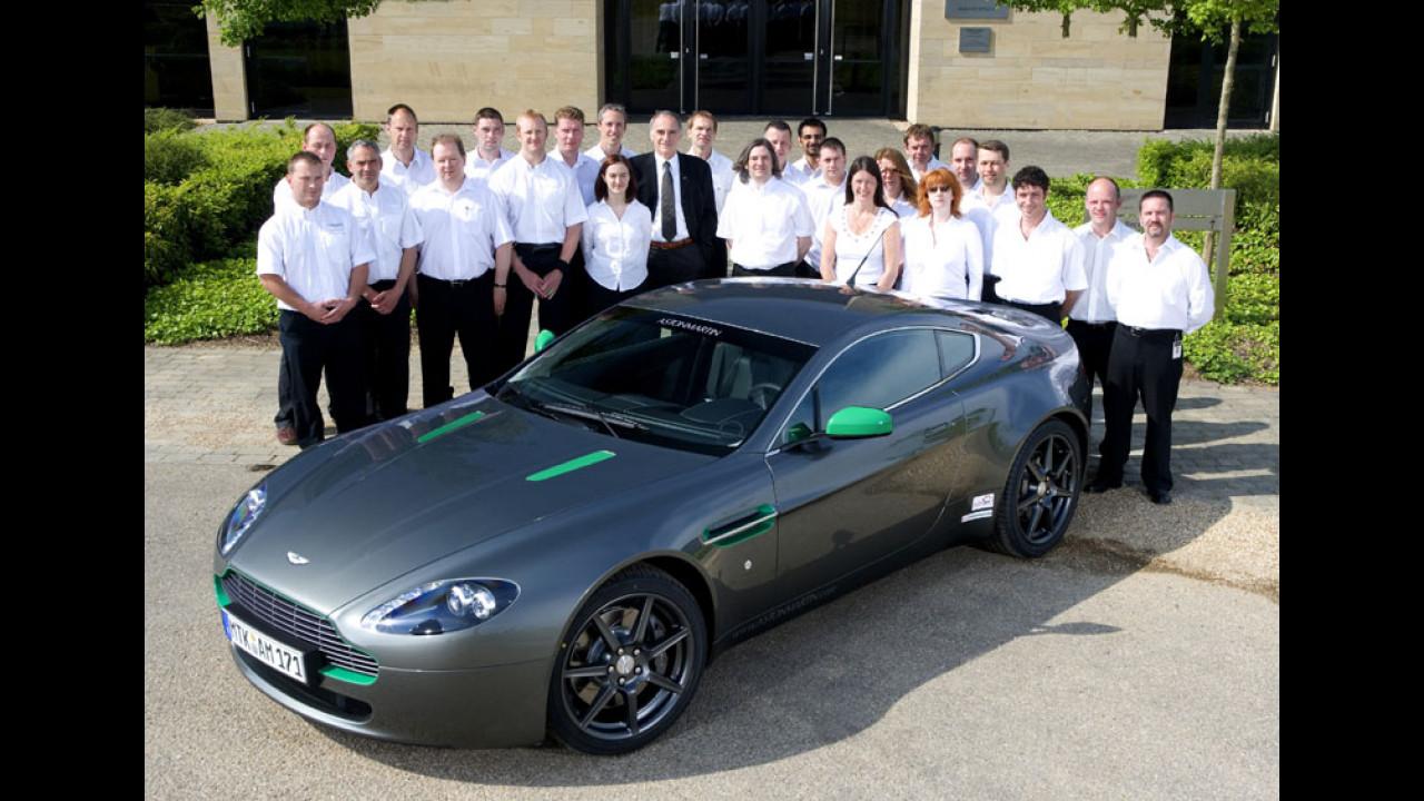 30 mila km per 30 mila Aston Martin