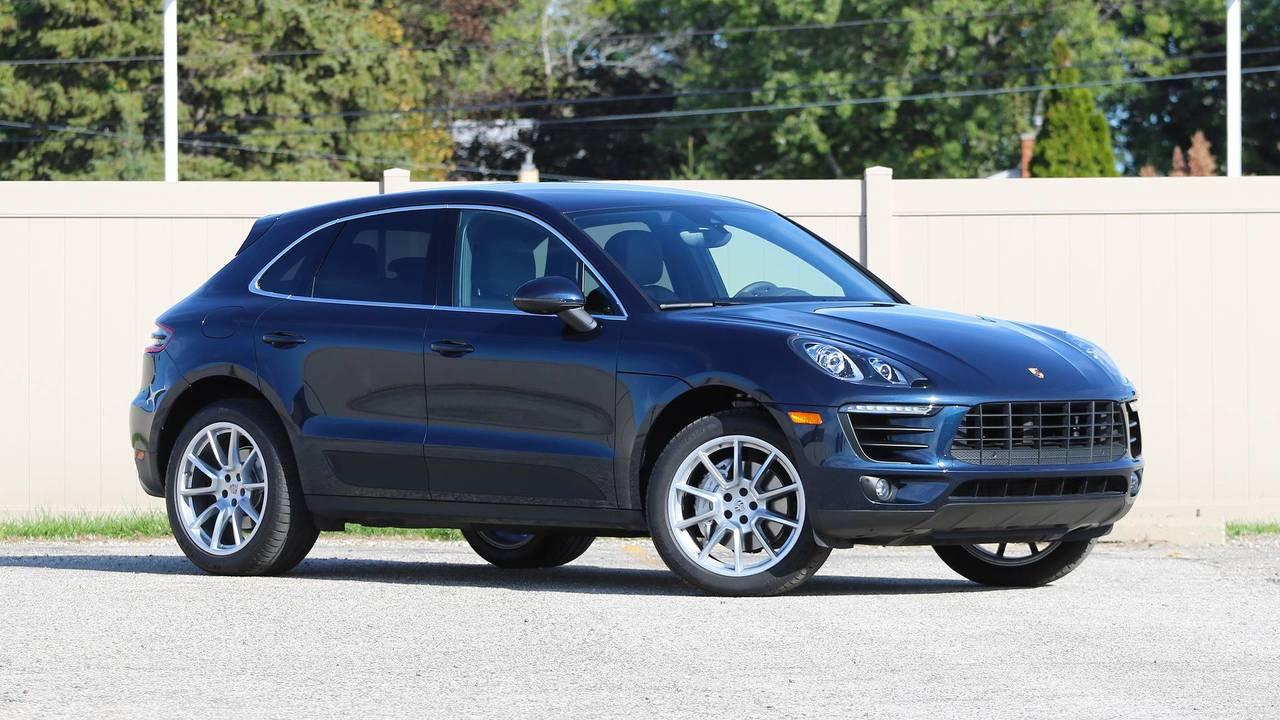 2017 Porsche Macan S Review Sports Car On Stilts
