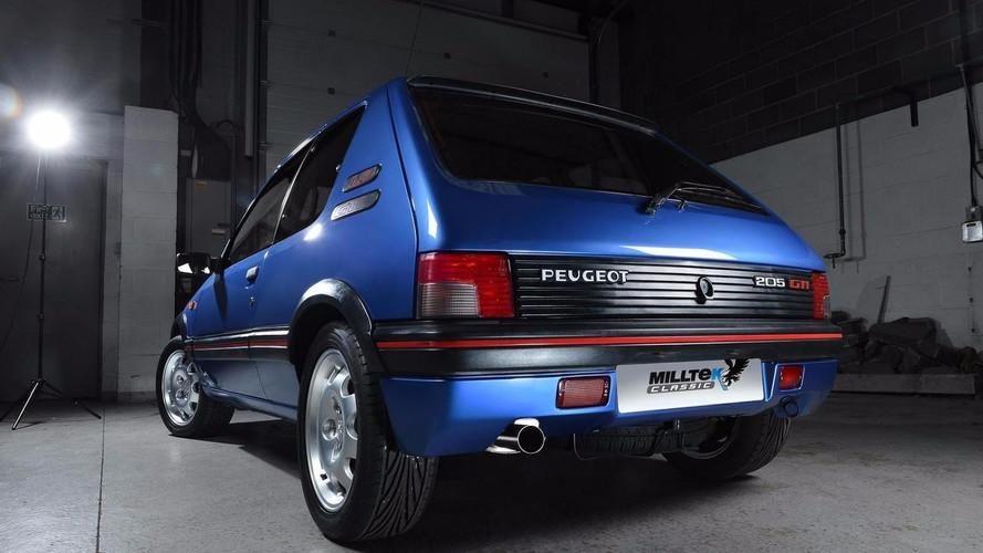 Milltek propose un échappement inox pour les Peugeot 205 GTi