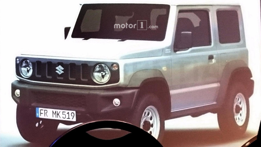 2018 Suzuki Jimny leaked official images