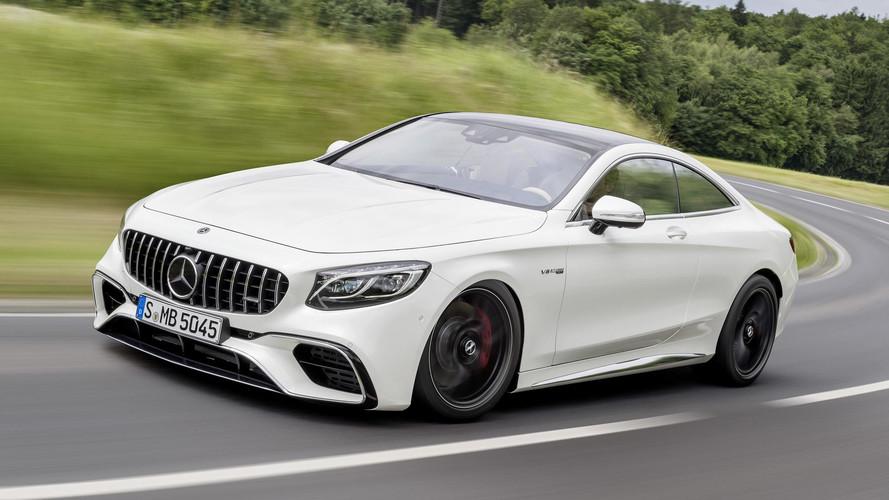 Mercedes-Benz S-Class Coupe Reveals Its Frankfurt Facelift