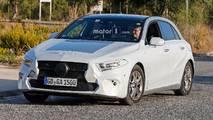 2019 Mercedes A-Serisi casus fotoğrafı