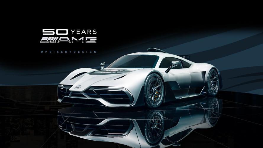 Így mutatna F1-es orral a Mercedes-AMG Project One