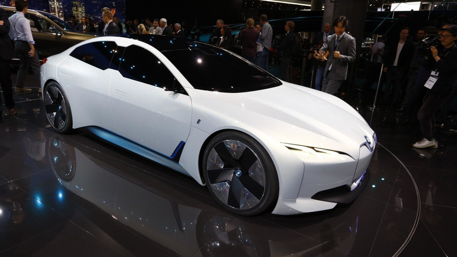 BMW i Vision Dynamics Is 4 Series Gran Coupe's Electric Brother