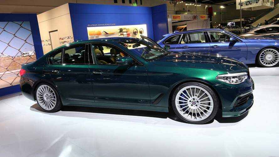 Alpina D5 S Visits Frankfurt To Show Diesels Are Still Important