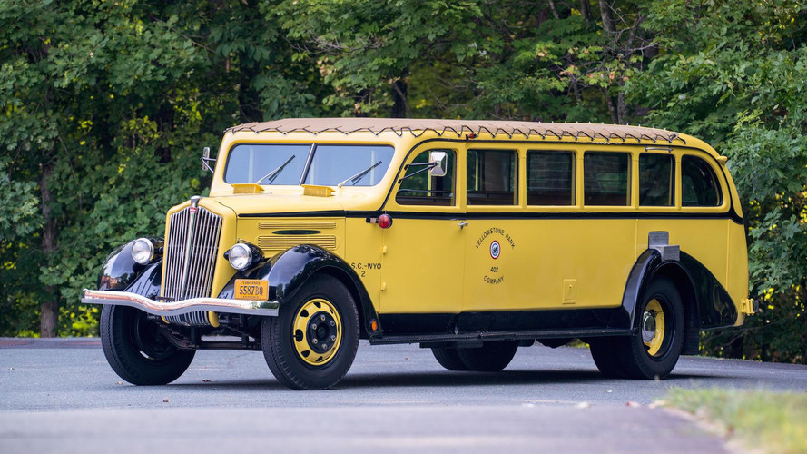 Be Your Own Tour Guide In This 1937 Yellowstone Park Bus