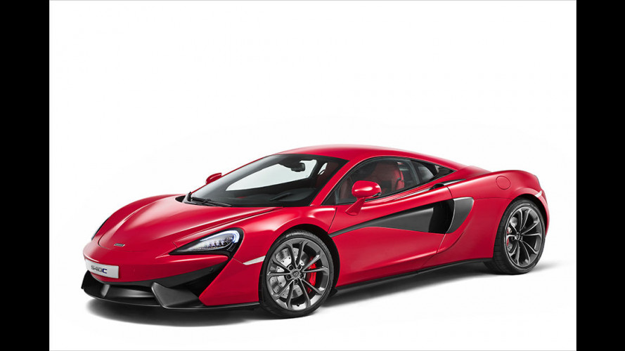 Einstiegs-McLaren in Shanghai enthüllt