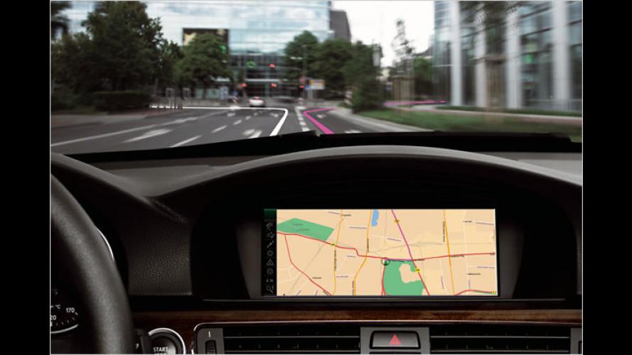 So stellt sich BMW das Navigationssystem der Zukunft vor